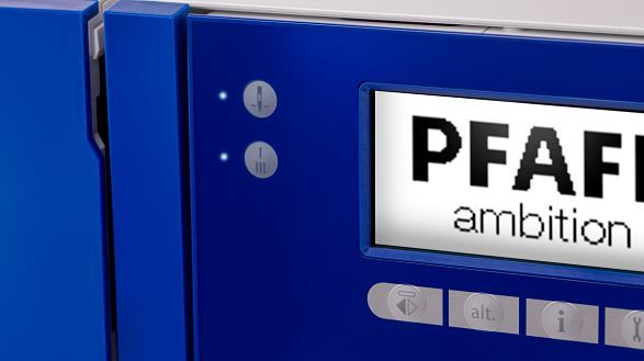 PFAFF ambition 610 - LCD Screen